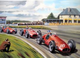 """Grand Prix de Reims 1953"" Hawthorn/Fangio/Ascari - Ferrari"