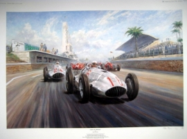 """ King Of Tripolis "" Tripoli 1939 -  Mercedes-Benz W165 - Lang/Caracciola"