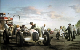 Silver Arrows Project : Mercedes-Benz W25 Grand Prix de I'A.C.F. Montlhery 1934