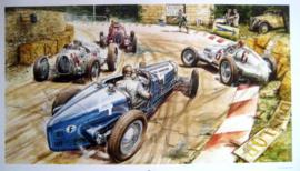 """""""Historical Race Italia"""" - Bugatti/Alfa Romeo/Mercedes-Benz/Auto Union- 1925-1935"""