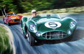 """Le Mans 1959""  - Aston Martin DBR1 - Winner : Shelby/Savadori"