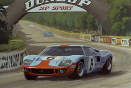 Le Mans 24h 1969 - Winning Ford GT40 - Ickx/Oliver - Limited Edition 35 pcs Worldwide