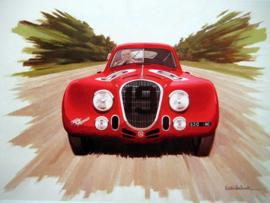 Alfa Romeo 8c 2900B Touring #19 Sommer/Biondetti - Le Mans - 1938
