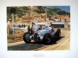 """""""Monaco Grand Prix 1937"""" - Mercedes-Benz W125 Caracciola/Von Brauchitsch"""