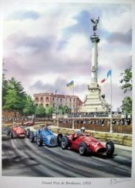 """""""Grand Prix de Bordeaux 1953"""" Ascari/Fangio - Ferrari/Gordini"""