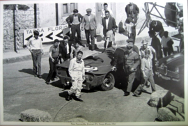 Targa Florio 1967 - Ferrari P4 #224 - Nino Vaccarella after his accident