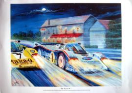 """""""Get Stuck In"""" - Porsche 962C Le Mans 1986 - Stuck/Holbert/Bell"""