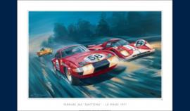 """Ferrari 365 Daytona, le Mans 1971"""