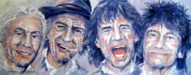 "Fine Art Print - The Rolling Stones -  ""It,s Only Rocker'n Roller"""