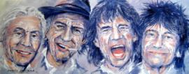 """Fine Art Print - The Rolling Stones - """"It,s Only Rocker'n Roller"""""""