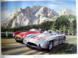 """Mille Miglia 1955"" Mercedes-Benz 300 SLR - Moss/Jenkinson"