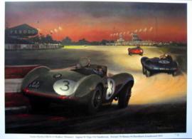 Aston Martin DB3S #3 Peter Walker Winner Goodwood 9 Hours Race 1955