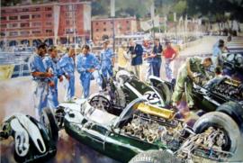 """Cooper Team"" Monaco Grand Prix 1959 - Cooper Climax T51's featuring John Cooper"