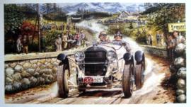 Mercedes Winner Semmering Hillclimbrace - 1905 Winner : Braun.