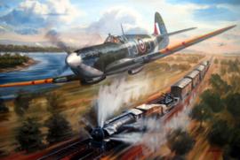 """Jacques Andrieux"" Spitfire MK VB - Punjab Squadron"