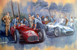 Lancia D50 - Alberto Ascari Monza 26-may 1955