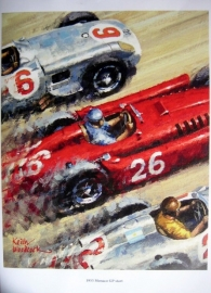 Start Monaco Grand Prix 1955 - Moss/Ascari/Fangio - Limited Edition 30 pcs. Worldwide