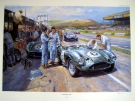 """Feltham Flyers"" Aston Martin DB3S - Savadori/Brooks Goodwood 1956"
