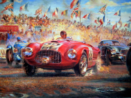 """Triple First"" Ferrari 166M - Luigi Chinetti - Le Mans 25/26 June 1949"