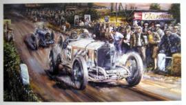 Mercedes SSK #72 - Caracciola winner Praguehill climbrace - 1929