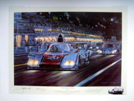""" Racer's Moon"" Le Mans 1976 : Porsche 936 - Jacky Ickx/Gijs van Lennep"