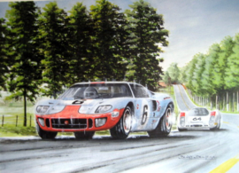 """Final Lap"" - Ickx – Oliver Ford GT40 Le Mans 24 Hours 1969"