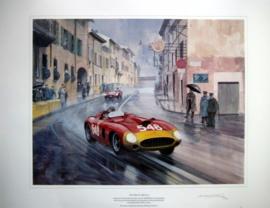 """""""Mille Miglia 1956"""" - Ferrari 290MM #548/Eugenio Castellotti"""
