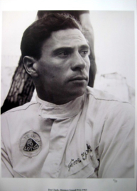 Jim Clark - Monaco Grand Prix 1965 - Limited 50 pcs.