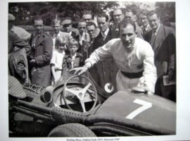 Stirling Moss - Oulton Park 1955 - Maserati 250F- #7 - Limited 50 pcs.