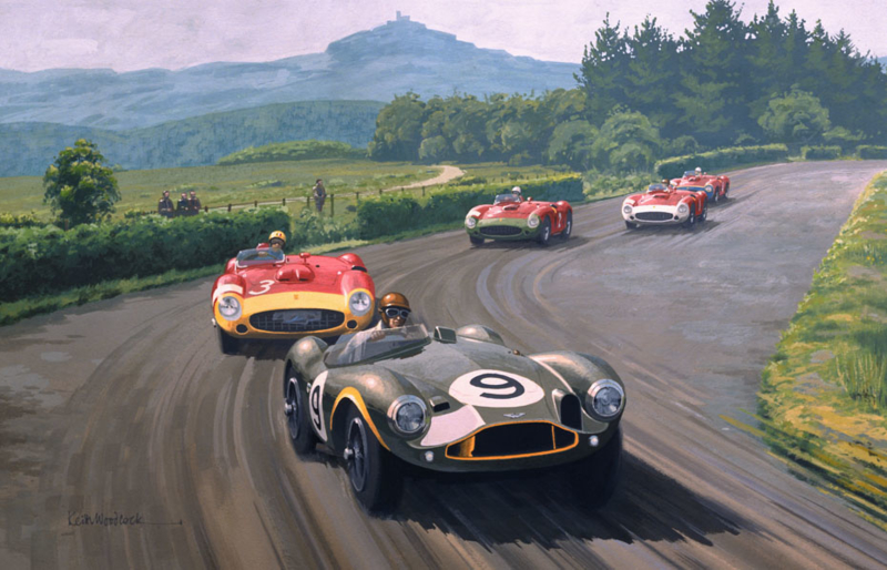 Collins/Aston Martin DB3S - Nürburgring 1956 (1000 KM) - Limited Edition 35 pcs Worldwide