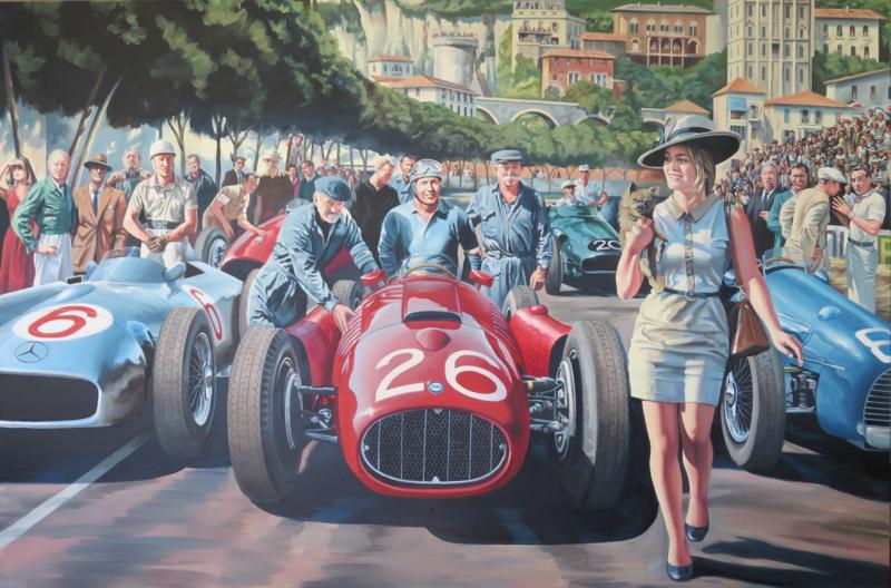 The day that Ascari dived in the port - Grand Prix de Monaco 1955  - Grace Kelly