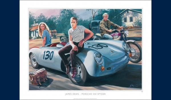 "Porsche 550 Spyder ""James Dean"" 1955"