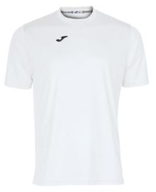JOMA Combi shirt jongens wit met LVO borstlogo