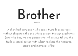 Brother kaart A6