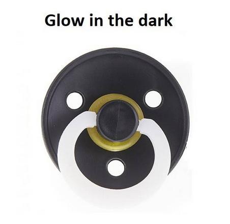 Black GLOW IN THE DARK 6-18 maanden