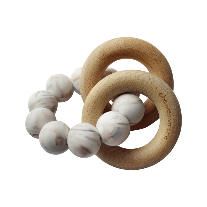 Basic Rattle Brown Marble