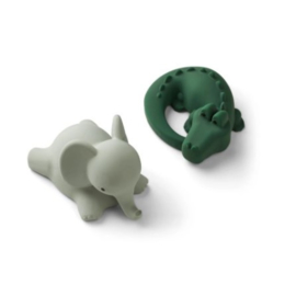 Vikky badspeeltjes safari green mix 2-pack - Liewood