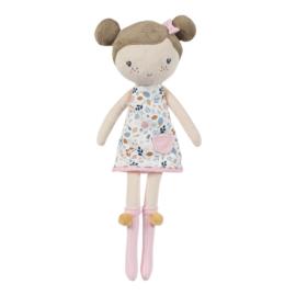 Knuffelpop Rosa 35 cm - Little Dutch