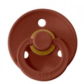Bibs fopspeen natuurrubber Rust - Maat 1