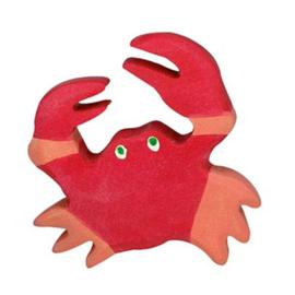 Houten krab 5 cm - Holztiger