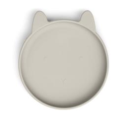 Siliconen bord rabbit sandy - Liewood