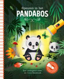 Zaklampboek Speuren in het pandabos