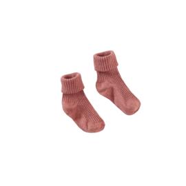 Sokken Georgina-Red rust - Z8