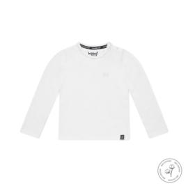 Jongens shirt Nate wit Bio Cotton - Koko Noko