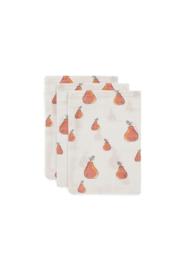 Washandjes Hydrofiel Pear 3-pack - Jollein