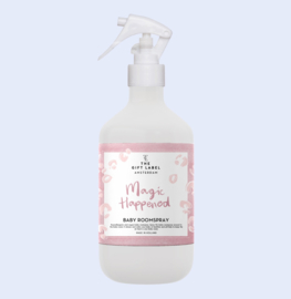 Baby roomspray Magic happened' - The Gift Label