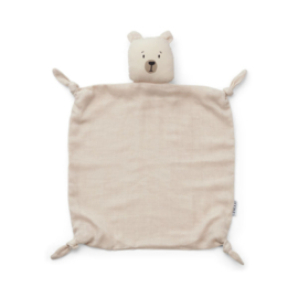 Knuffeldoek Agnete Polar bear Sandy - Liewood