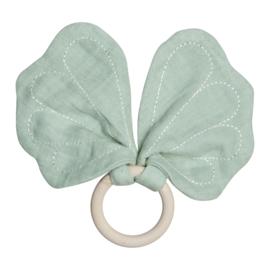 Vlinder bijtring mint - Fabelab