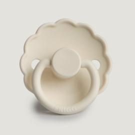 Frigg fopspeen natuurrubber Daisy Cream - Maat 1