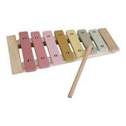 Houten xylofoon roze met of zonder naam - Little dutch